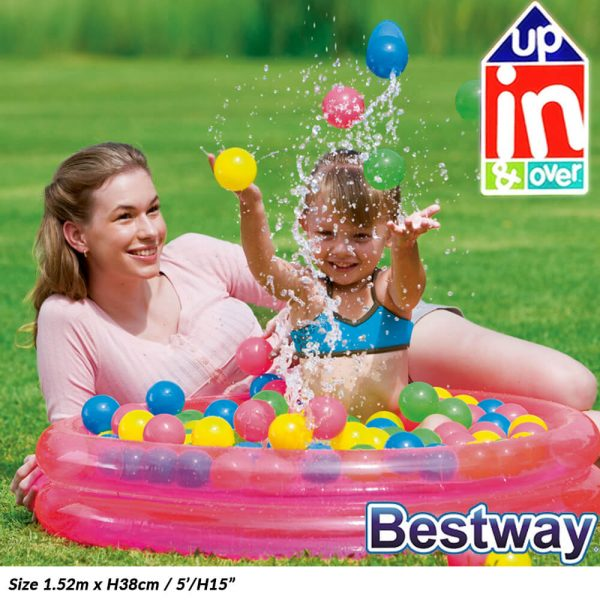 Bestway Inflatable Pool With Balls (IP0380