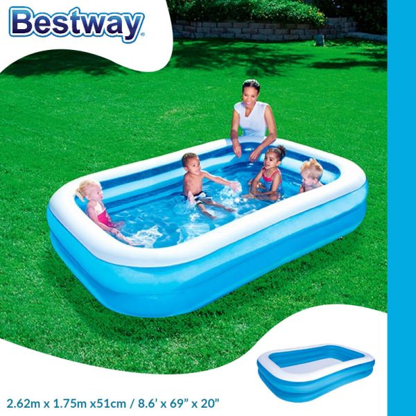 Bestway Inflatable Rectangular Family Pool (IP029)