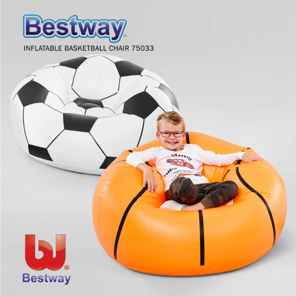 Bestway Inflatbale Basket Ball Chair