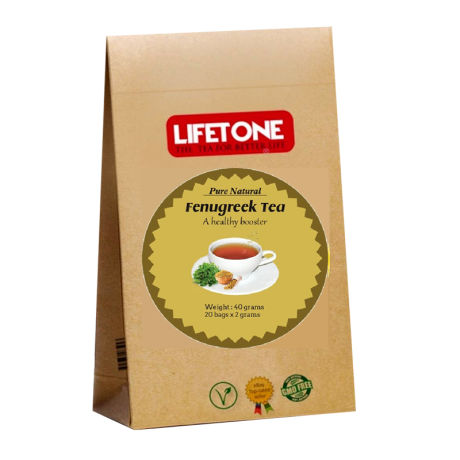 Lifetone Fenugreek Tea (20 Bags)