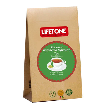 Lifetone Gymnema Sylvestre Herbal Tea 20 Teabags