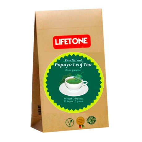 Lifetone Papaya Leaf Tea 20 Teabags