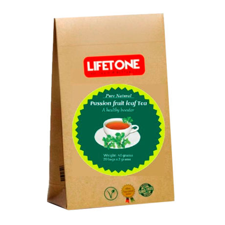 Lifetone Passion Fruit Leaf Tea - 20 Teabags