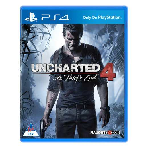 Naughty Dog PS4 Game - Uncharted 4: A Thief's End