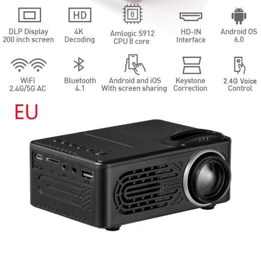 1080p Portable Mini Projector
