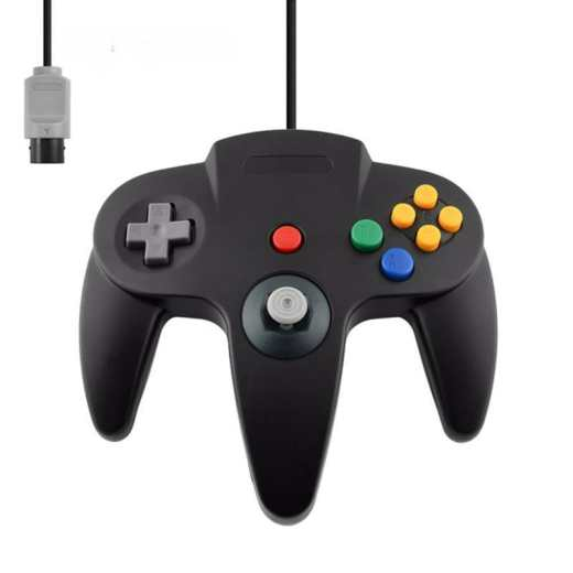 Wired Controller For N64 Classic Gamepad Joypad