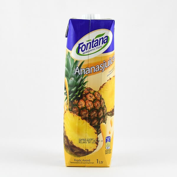 Fontana Pineapple Juice 1L