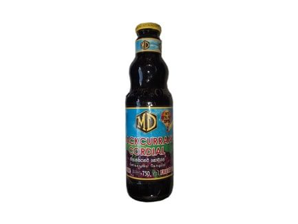 MD Blackcurrant Cordial 750ML
