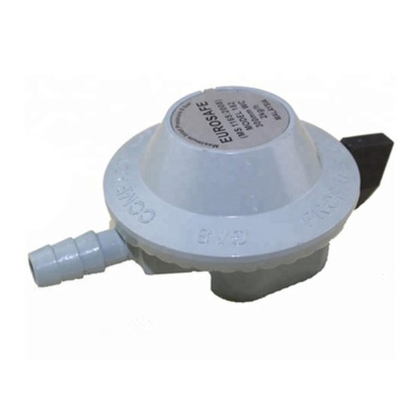 Eurosafe Low Pressure Gas Regulator