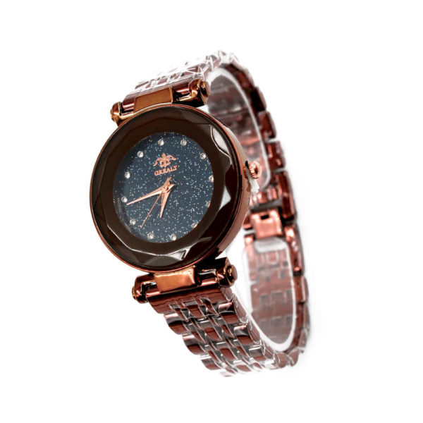 Grealy Ladies Stainless Steel Chain Watch (WW360)