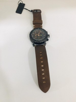T5 Leather Men's Watch
